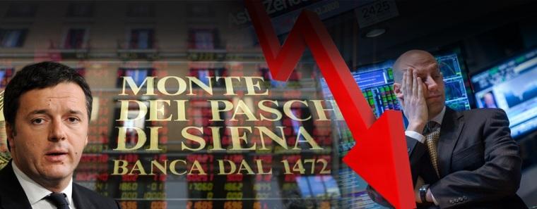 Italian banks sink