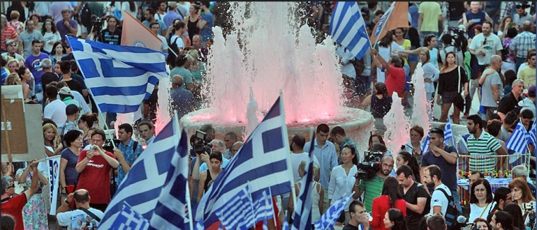 OXI celebrations at Syntagma