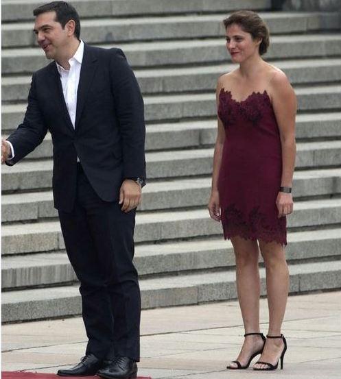 Tsipras-Peristera China