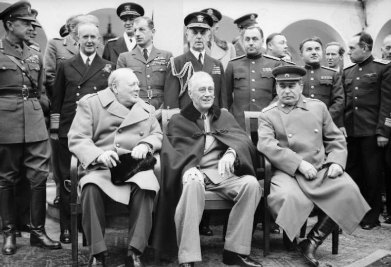 YALTA-Churchil-Roosvelt-Stalin