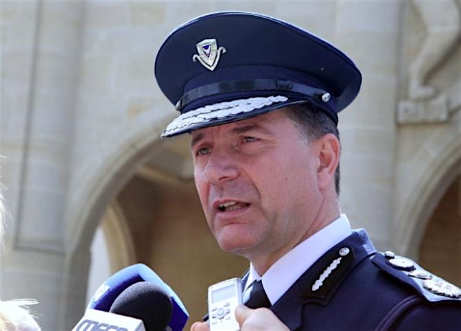 Ζαχαρίας Χρυσοστόμου-police chief