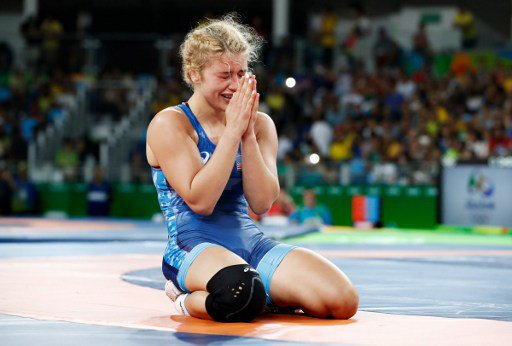 Gold medalist Helen Louise Maroulis