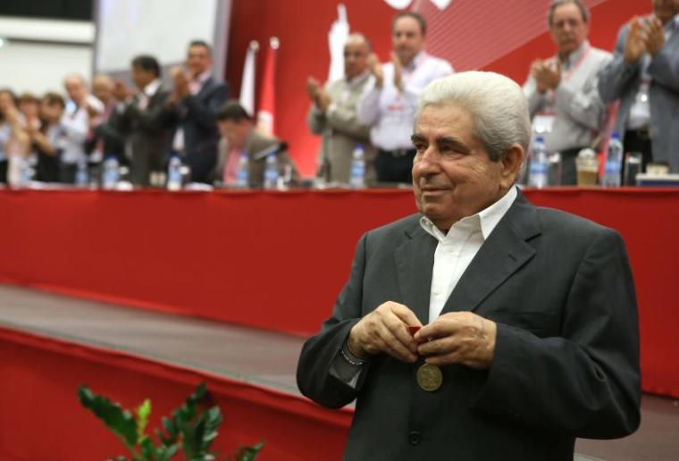 Christofias-red room
