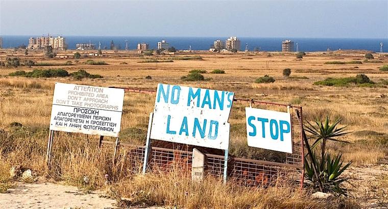 Cyprus-No man's land
