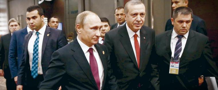 erdogan in russia