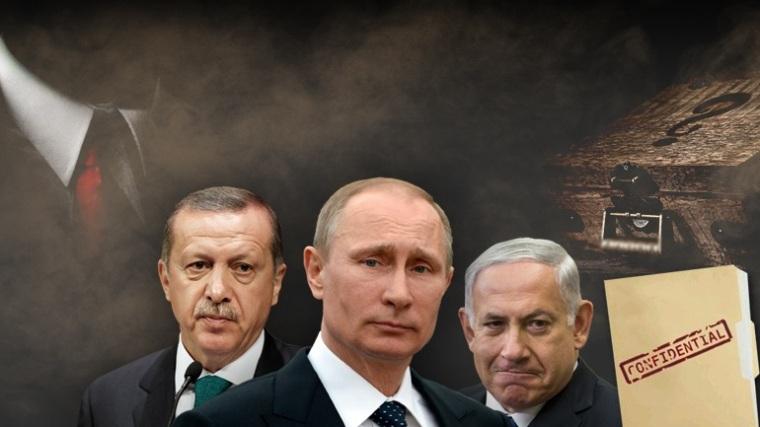 erdogan, putin, netaniahu