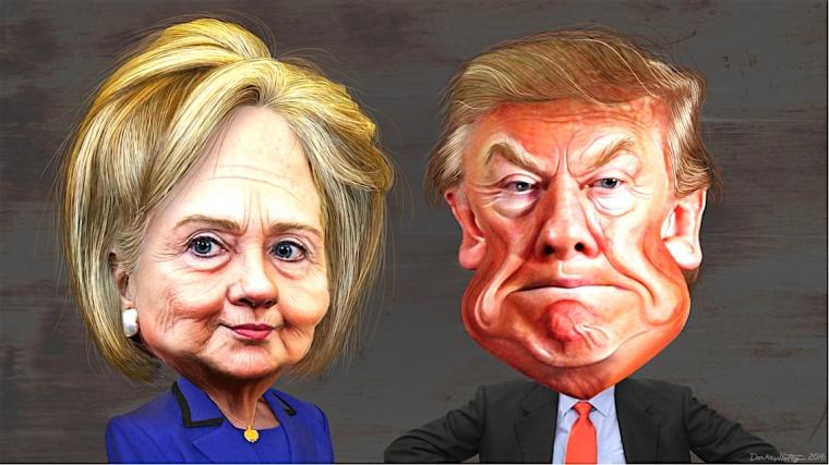 Hilary-Trump-art