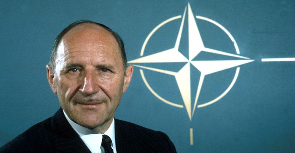 NATO Secretary General Joseph Luns
