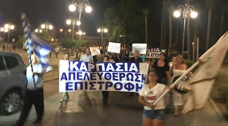 Karpasia-Αντικατοχική πορεία 2016