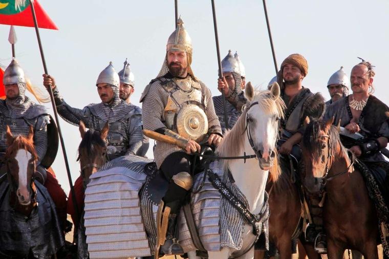 nomad turks on horses