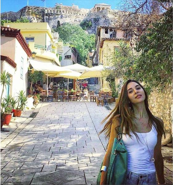 Thatiana Fanucchi - Greece