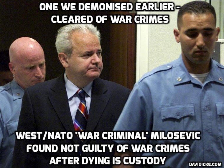 Milosevic-innocent
