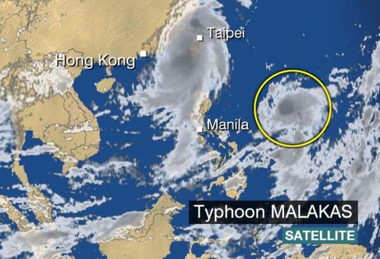 malakas typhoon