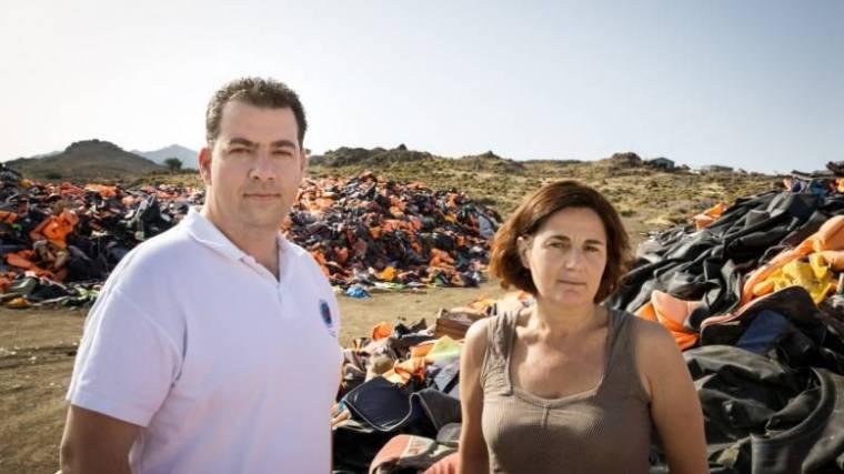 UN award-Greek volunteers-refugees