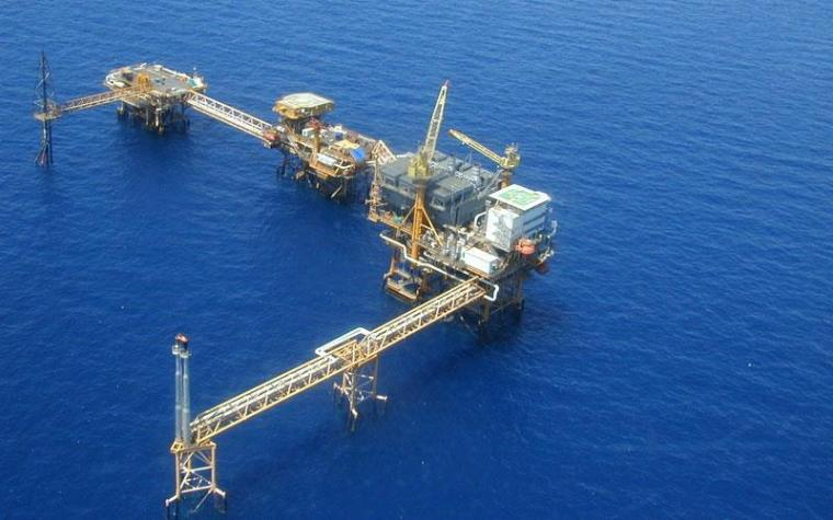 sea oil-gas platform