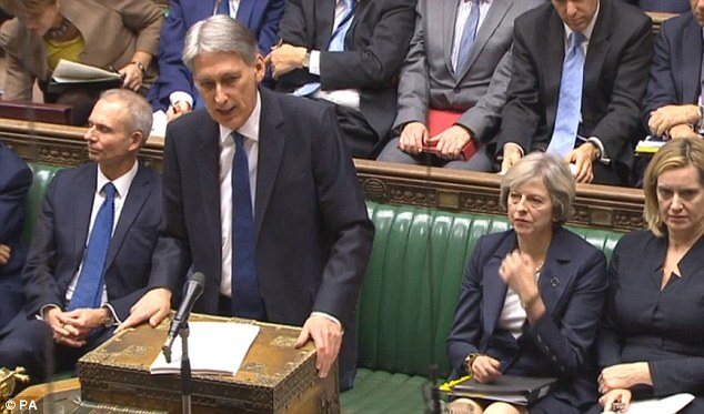 Philip Hammond, Commons