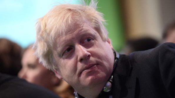 Boris johnson face