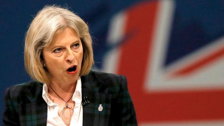 Theresa May-mouth
