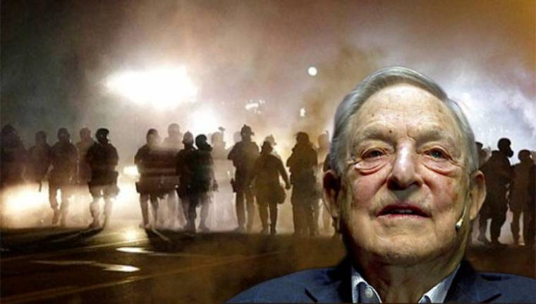 Soros-street protests