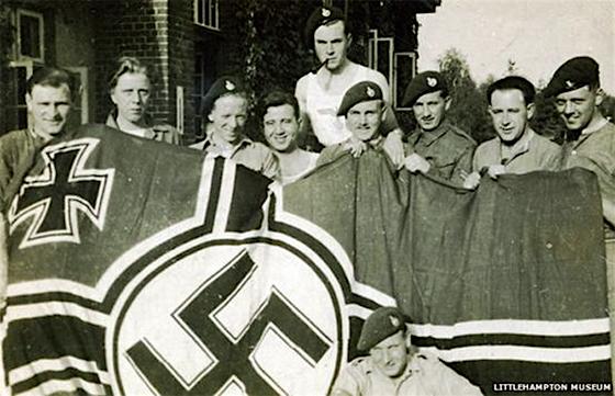 39 Assault Unit-nazi-flag