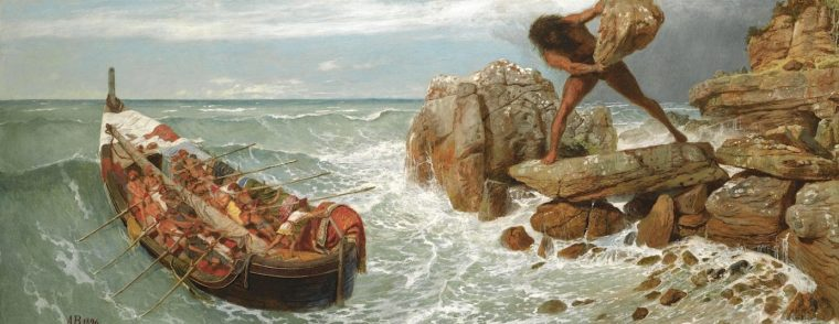arnold_bocklin-odysseus-and-polyphemus