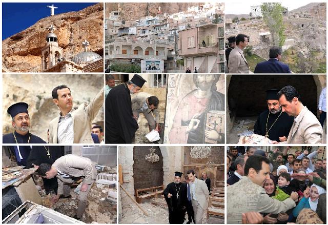 bashar-al-assad-wife-church-collage