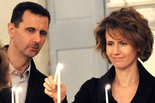 bashar-al-assad-wife-church