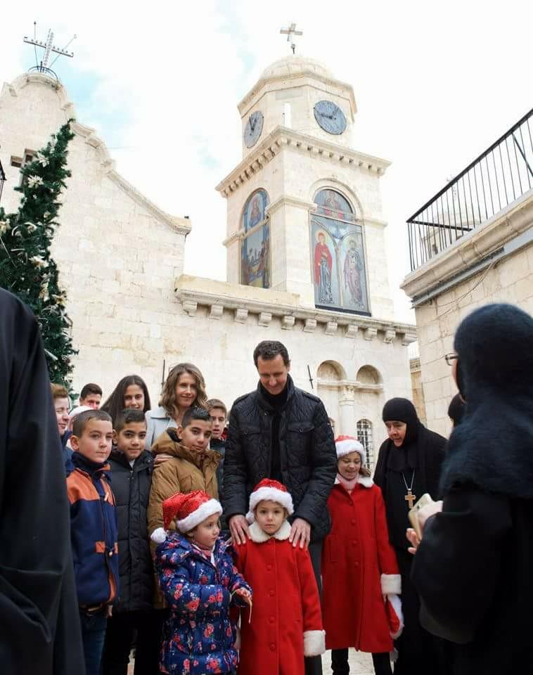 bashar-al-assad-wife-church2