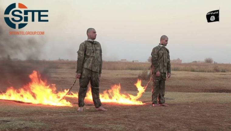 isis-turkish-soldiers-burned-alive