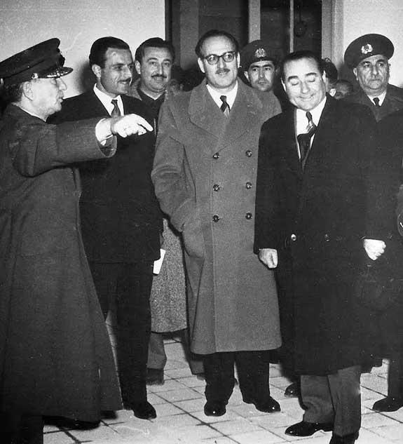 Adnan Menderes and Fatin Rüştü Zorlu, 1959