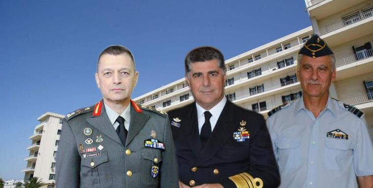 Greece, heads, Armed Forces