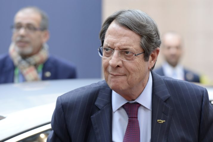 "Cyprus' President Nicos Anastasiades European Union leaders are weighing sanctions against supporters of Syrian President Bashar al-Assad's regime if they fail to stop atrocities, according to a draft summit statement that appears to target Russia.   ""The EU is considering all options, including further restrictive measures targeting individuals and entities supporting the regime, should the current atrocities continue,"" according to a draft obtained by AFP before the summit in Brussels that opens later Thursday. arrives for an European Union leaders summit on October 20, 2016 at the European Council, in Brussels. / AFP / THIERRY CHARLIER        (Photo credit should read THIERRY CHARLIER/AFP/Getty Images)"