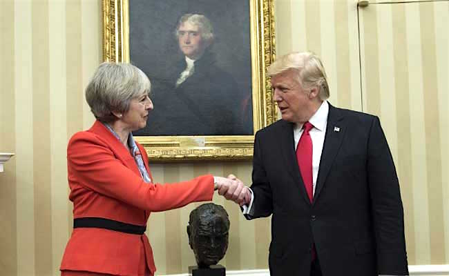 uk-pm-theresa-may-held-talks-with-us-president-donald-trump