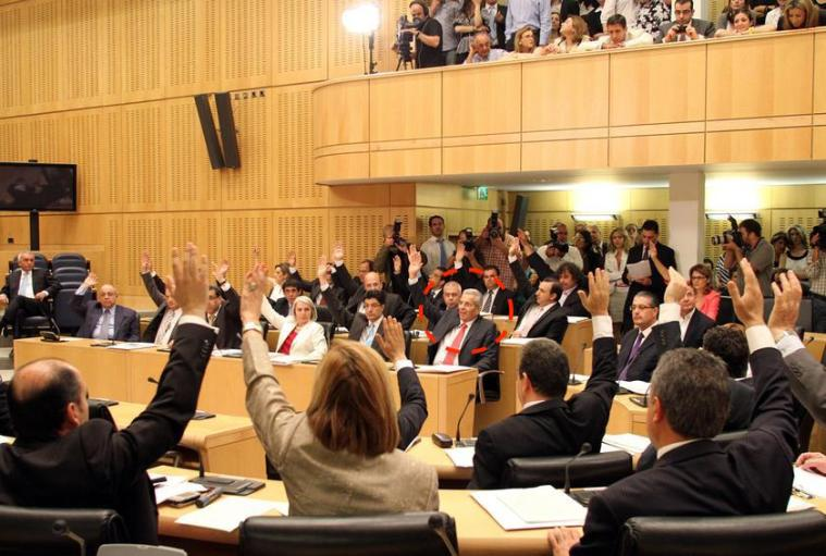 vouli-raise-hands-for-imia-provocation-akel-not