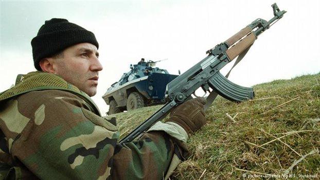 Serb soldier
