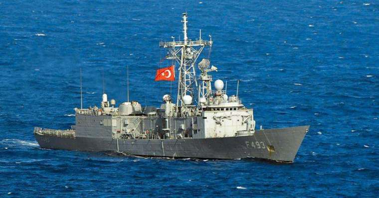 turkish warship-Aegean
