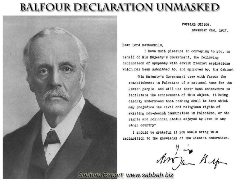 balfur-declaration-on-israel-creation