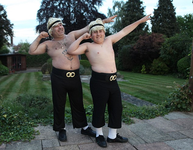 Stavros Flatley stars Demetrios Demetriou and his son , Lagi aged 14.