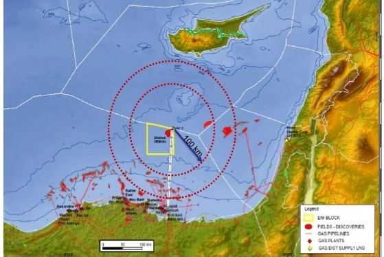 Image result for αγωγός κύπρου αιγύπτου